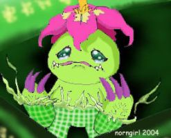 Palmon Digivolves by norngirl
