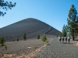 Cinder cone climbers by MartinGollery