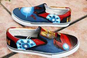 Iron Man shoes 2 by LovelyAngie