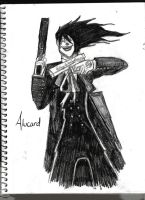 Alucard laughs atchoo by bubble-blower1991