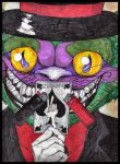 Grins like a cheshire cat by Dani-Wicked