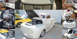 Pearl White Ford Truck by joerayphoto