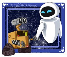 wall-E - only took a moment by RedDestiny
