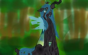 Queen Chrysalis by TheBirb