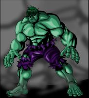 The Incredible Hulk by theRedDeath888