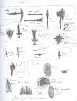 John Putos Weapons and Powers by Logan-Spartan125