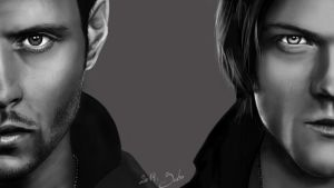 Sam and Dean by FeelThesunshinE