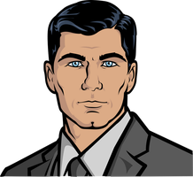 Sterling Archer by DrWeb70