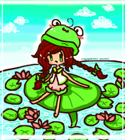This is My Lily Pad! by jenn5055