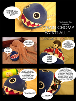 Chain Chomp eats it all by snowcalico