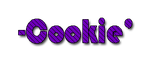 Texto png para cookie by Sellybel