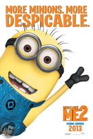 Despicable Me 2 Poster by wiiman1225