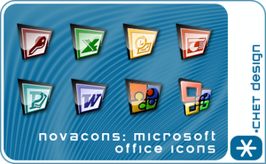 Novacons MS Office Icons by digitalchet