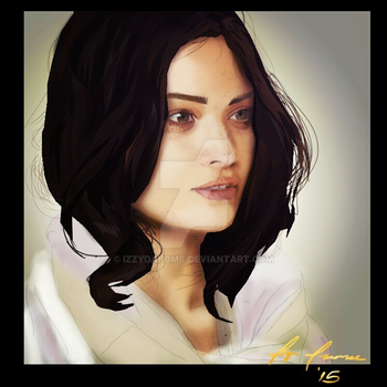 Ava Portrait by IzzydaBomb