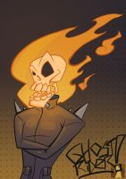 Ghost Rider Quickie by OMEGA-CROSSFire