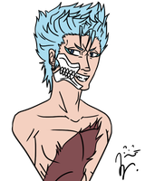 Grimmjow by my-name-is-totoro