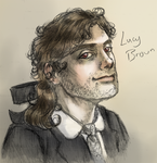Lucy Brown Bust by shylittleghost