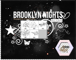 Brooklyn Nights (Brushes) by StrongAsLion