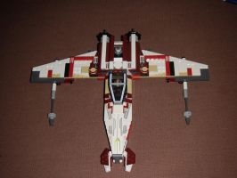M7-H9 Maverick Fighter Mark 2, Attack Mode by BrigadierDarman