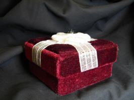 Red Velvet Gift Box 1 by FantasyStock