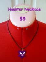 Haunter Necklace by CynicalSniper