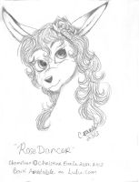 Rose Dancer pencil work by Raph1966