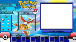 Pokemon Shiny Gold X Layout by KojiroBlade