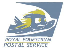 Royal Equestrian Postal Service (DerpyMail) by Snapai