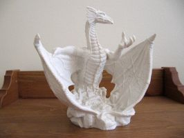 White dragon02 by restmlinstock