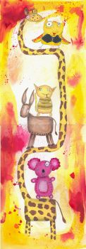 Quirky Animal Totem by immodica
