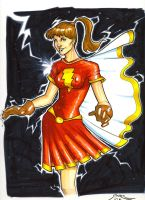 Classic Mary Marvel by gravyboy
