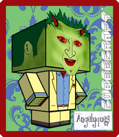 Lorne Cubeecraft by angelyques