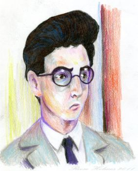 Spengler in Colored Pencil by ManuelMishonu
