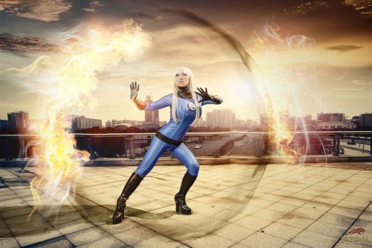 New costume - Invisible Woman! by yayacosplay