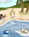 Pollpic 211 Lillie by kingofthedededes73