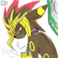 Old pic - Yami Umbreon by kompy
