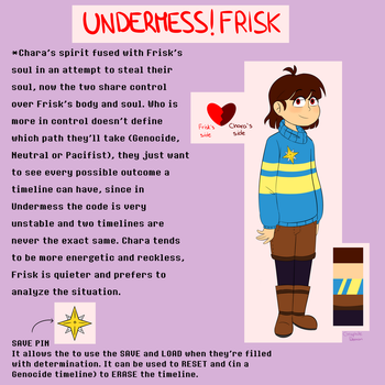 Undermess!Frisk by graphite-demon-99