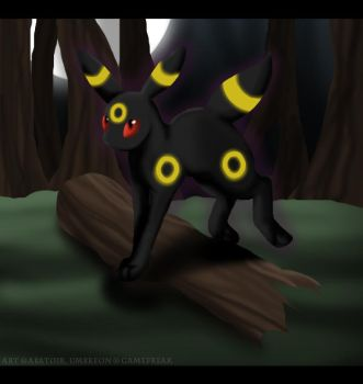 197 - Umbreon by Abatoir