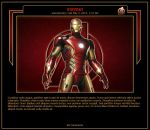 Ironman Journal Skin by MrOrbital