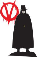 V for Vendetta Fan Art by Lappy74