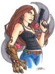marker: Witchblade by KidNotorious