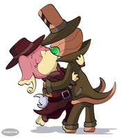 Detective Kisses by Fishlover