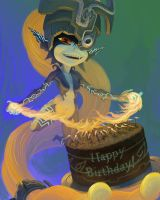 Midna birthday gift 2012 by Ruthac-Arus