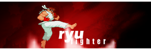 Ryu Fighter - Signature by bioxyde