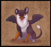 Puffin Gryphon by WoolNoon