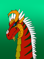 Headshot Request for Drako by MeiwaJaeger
