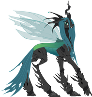 MLP FIM Queen Chrysalis by SirPh0eniX