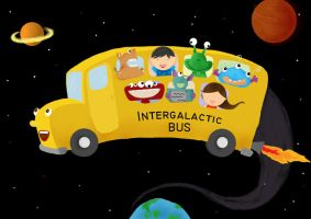 Intergalactic Bus by latebraking