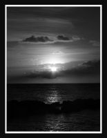 nice sunset at curacao v2 by simoner