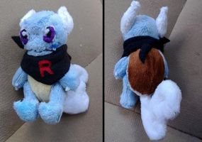 mini Wartortle Plush by LRK-Creations